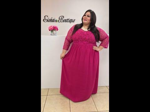 Fuchsia Maxi Dress Elohai Boutique | Shop Online Now! Fashion Plus Size Women Clothing