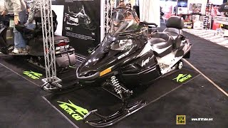 10. 2015 Arctic Cat Lynx NT Snowmobile - Walkaround - 2014 Toronto ATV Show