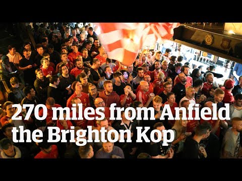 The Brighton Kop: 270 Miles From Anfield But No Less Liverpool
