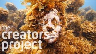 アートを超えたアート ジェイソン・デカイレス・テイラーの海中彫刻