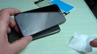 Applicazione pellicola vetro 3D Xiaomi Mi6