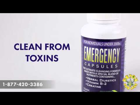 Pass your Urine Test with Rapid Clear Emergency Capsules
