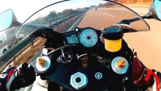 2. Yamaha R6 Topspeed Autobahn