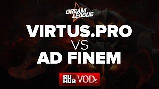 Virtus.Pro vs Ad Finem, game 1