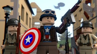 Video LEGO WWII CAPTAIN AMERICA MP3, 3GP, MP4, WEBM, AVI, FLV September 2018