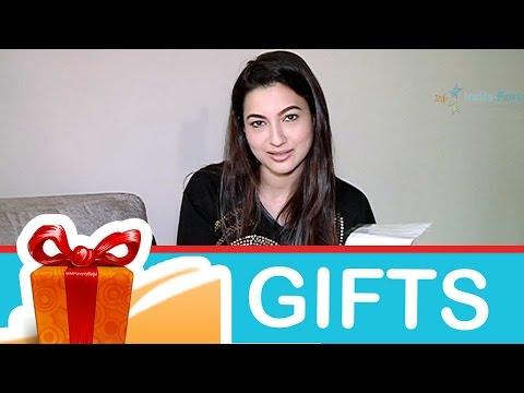 Gauahar Khan's gift segment! Part-01