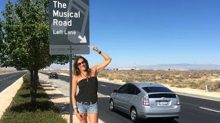 Lancaster (CA) United States  city photos : Musical Road Lone Ranger Highway Lancaster California VLOG