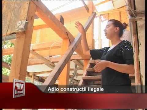 Adio construcții ilegale