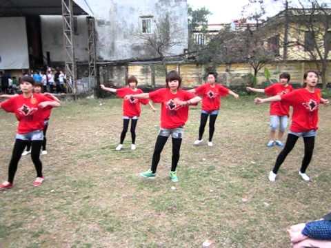 nhảy aerobic k3atkdh trường đại học sư phạm nghệ thuật trung ương