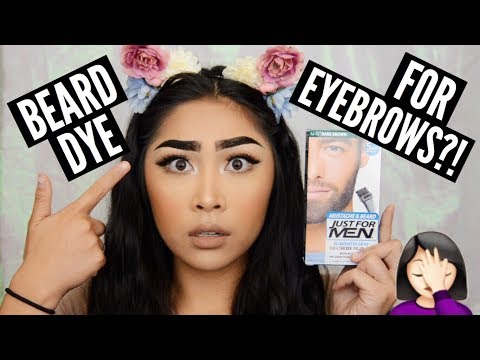 DYING MY EYEBROWS FAIL | Raye Nicolette