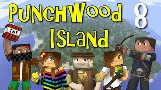 """Punchwood Island E08 """"Employees Only"""" (Minecraft Family Survival)"""