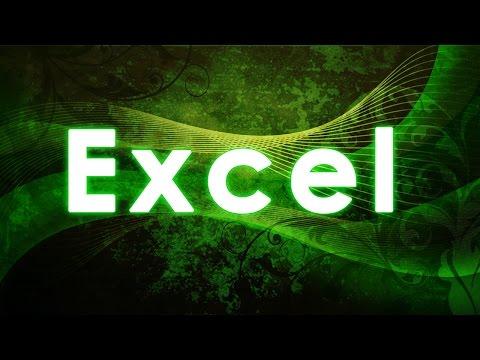 Video 1 de Microsoft Excel 2010: Contabilidad básica