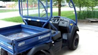 5. 2009 KAWASAKI MULE 610 4X4