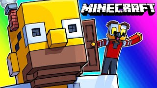Video Minecraft Funny Moments - The Giant Exploding Homer Prank! MP3, 3GP, MP4, WEBM, AVI, FLV Agustus 2019