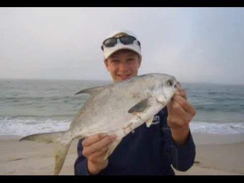 Surf Fishing Florida for Pompano, Trout, and Whiting
