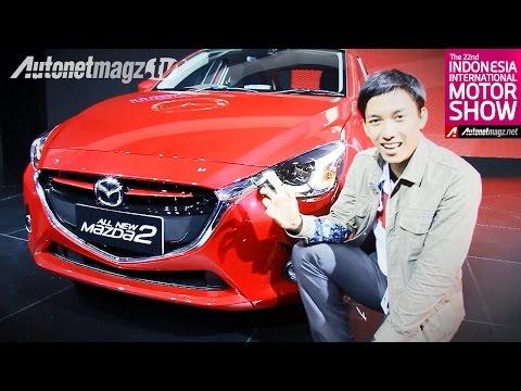 First impression review Mazda 2 SkyActiv 2015 dari Indonesia Motor Show