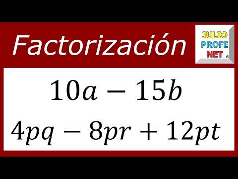 Vídeos Educativos.,Vídeos:Factor común