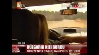 Burcu Burkut Erenkul - ATV - Ana Haber Bülteni - Castrol İstanbul Ralli Şamp. - 2009