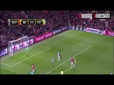 Munchester united vs feyenoord 4-0 match highlights