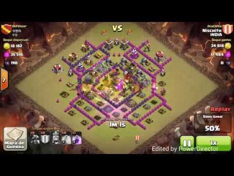 Th7 vs th8 with max ad dragons war attack strategy:  best th8 war base anti drag anti hog anti gowipe : http://ascendents.net/?v=hev3YD5BVR4Having trouble looking at so many town hall 8 in the enemy clan with well upgraded air defences. Dont worry here is a guide to how to use dragons level 2 against a town hall 8 for 3 stars, i wud be sharimg many attack replys where th7 wins 3 stars from well upgraded th8. check the playlist or use this linkhttp://ascendents.net/?v=G6Hf7epdSFQ