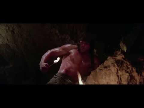 """Rambo III"" - That Scene When He Lights Himself On Fire"