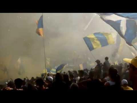 Video - Recibimiento Rosario Central vs Independiente 2015 [Desde adentro] - Los Guerreros - Rosario Central - Argentina