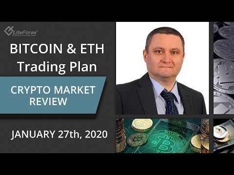 Crypto Trading Plan: Bitcoin and ETH Price Action, Market Makers Manipulation 27.01.2020