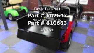 E-Z-GO's Steel Cargo Bed is ready to handle your toughest jobs and allows you get the best of both worlds between a golf car and utility vehicle. Give your ...