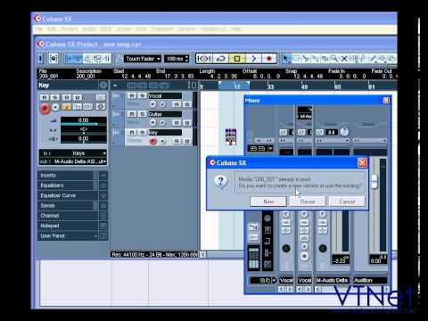 05 Cubase Video Tutorial – VST Connections – what they are and how to set them up – part 2