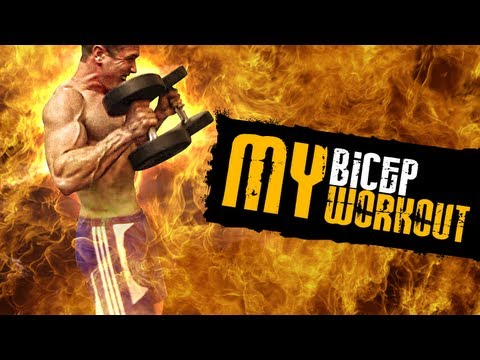 Scott Herman - Antrenament Biceps