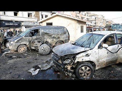 Συρία: διπλή πολύνεκρη βομβιστική επίθεση συγκλονίζει την Χομς