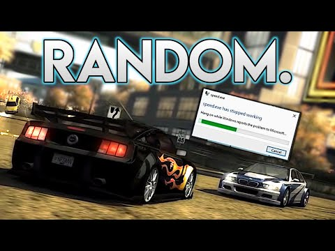 Random Mods in NFS Most Wanted [Cars, Physics, Effects] (видео)