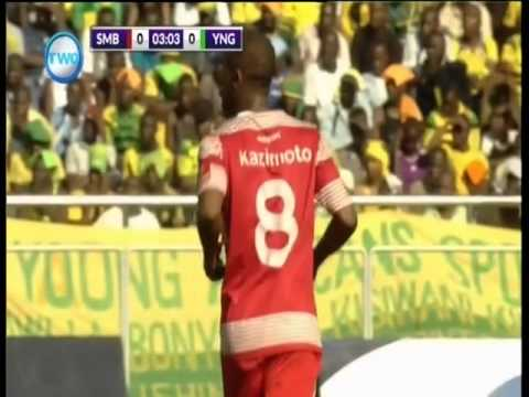 Simba 0-2 Yanga First Half
