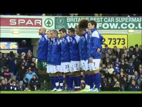 Everton FC Pays Tribute To Gary Speed