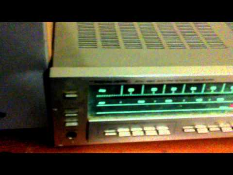 Vintage realistic stereo with Panasonic speakers