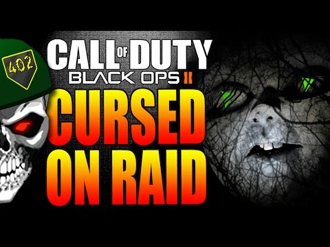 COD Black Ops 2 | Curse of The Green Triangles on Raid! (BO2 Multiplayer)