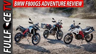 7. 2017 BMW F800GS Adventure Spec Price and Review