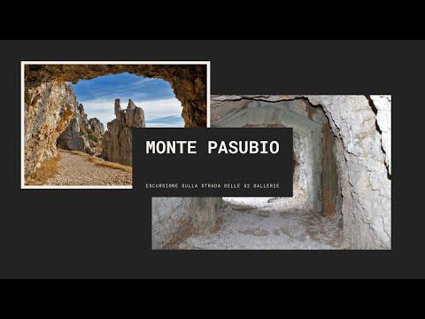 Tra le 52 gallerie del Monte Pasubio