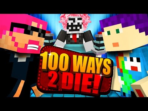 Minecraft: 100 WAYS TO DIE CHALLENGE - HE CHOSE HIMSELF?! (видео)
