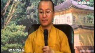 Kinh Hiền Nhân 10 - Đừng Để Đất Nước Lâm Nguy - TT.Thích Nhật Từ