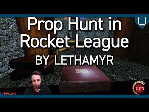Rocket League Prop Hunt  Giant Castle