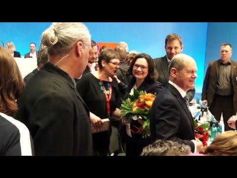 German social Democrats elect Nahles as first female leader