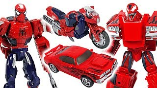 Video Marvel Avengers Transformers Spider Man, Iron Man VS Carnage, Venom! Fight!! - DuDuPopTOY MP3, 3GP, MP4, WEBM, AVI, FLV Juli 2018