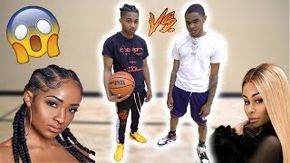 1v1 Basketball vs. YBN Almighty Jay!! (If I win I get Blac Chyna phone number)