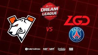 Virtus.pro vs PSG.LGD, DreamLeague Season 11 Major, bo3, game 2 [4ce & Lex]