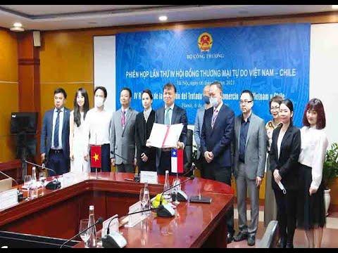 Trực tuyến Phiên họp lần IV Hội đồng Thương mại tự do Việt Nam - Chile