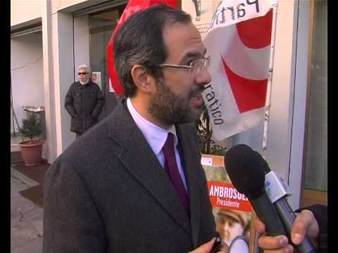 """Ambrosoli: """"Il centrodestra sta attuando il voto di scambio"""""""