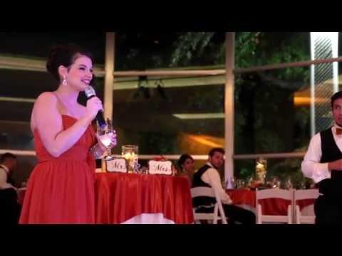 video:The DeHaro Wedding Reception At Texas Discovery Gardens