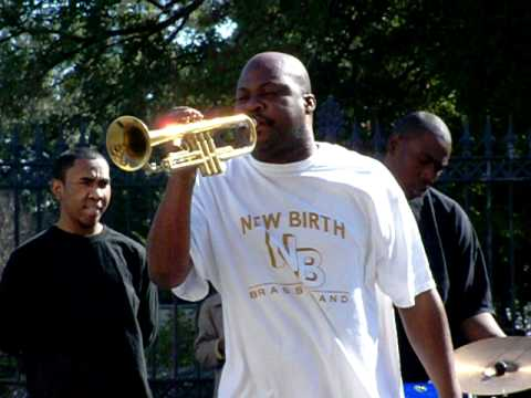 The Forgotten Souls Brass Band song from HBO's Treme Jackson Square, New Orleans, LA  01-17-11