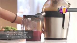 Video Philips Avance Katı Meyve Sıkacağı MP3, 3GP, MP4, WEBM, AVI, FLV Desember 2017